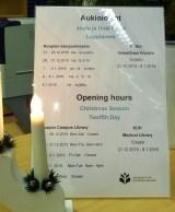 KYSin tieteellinen kirjasto on muuton vuoksi suljettu 19.-12.2015-10.1.2016.
